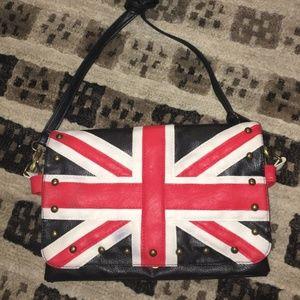 Vintage British Flag Crossbody Purse